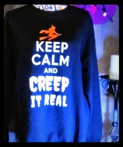 Gildan Halloween Heavy Blend Sweatshirt L/G NWOTs